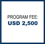 Program Fee: USD 2500